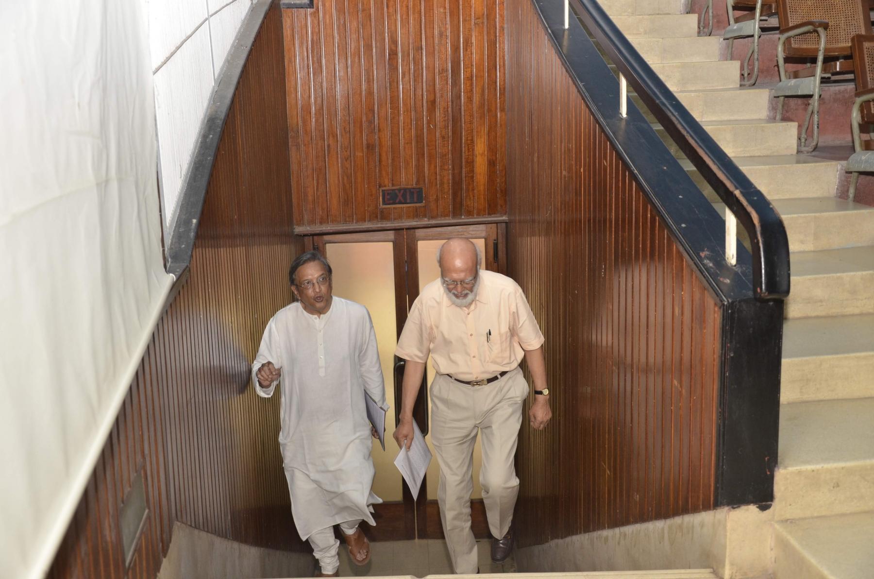 Shri Shaileshbhai and Shri Prafullbhai