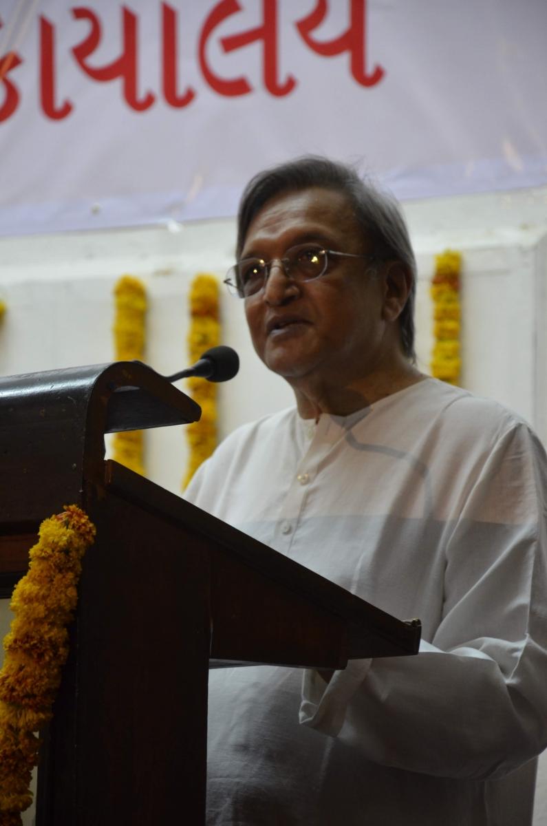 Shri Shailesh Parekh's talk at the event