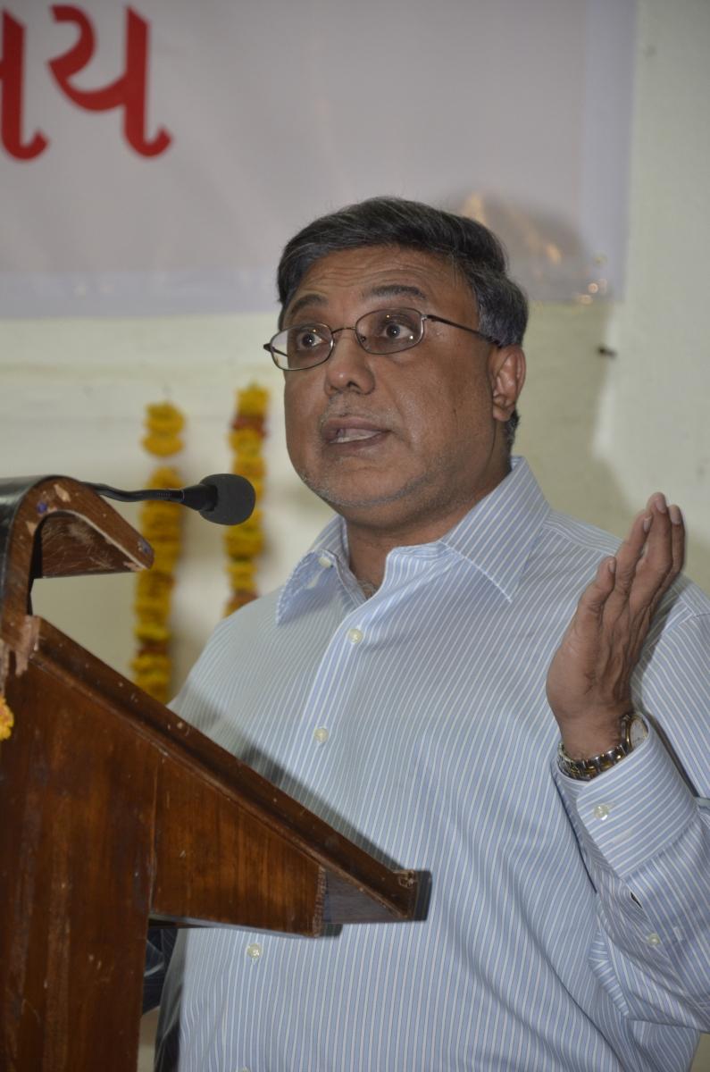 Shri Sandip Bhagat's talk at the event