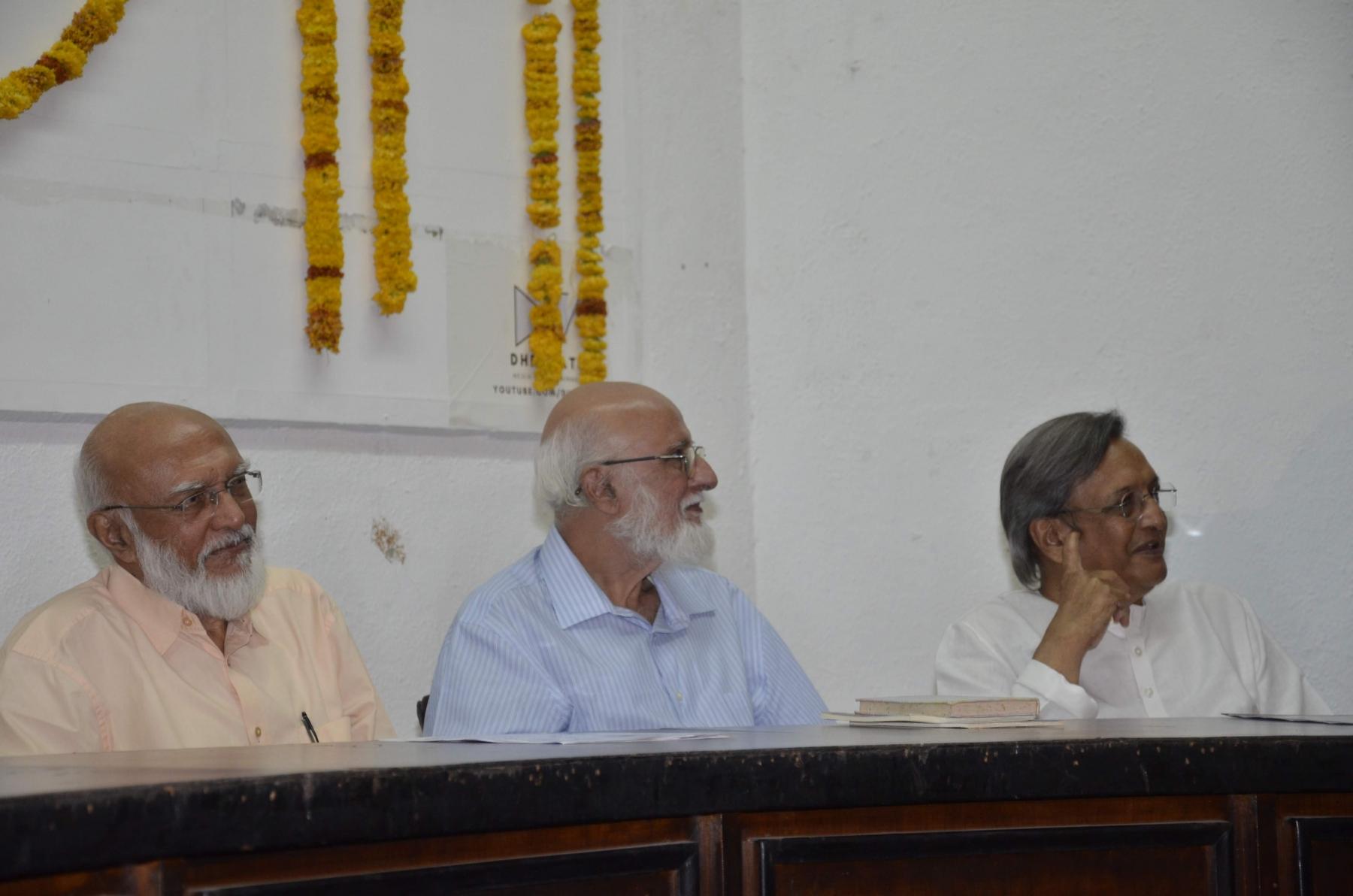 Shri Prafullbhai, Shri Sitanshubhai, Shri Shaileshbhai