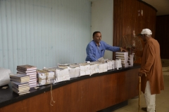 Book stall at the event